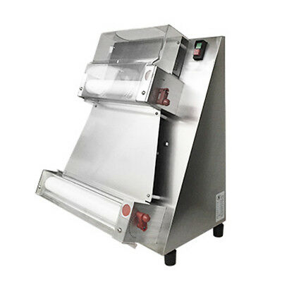 370w Automatic Pizza Dough Roller Sheeter Machine Pizza Making Machine 110V/220V