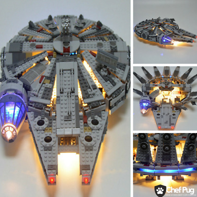 LED Light Kit ONLY For Lego 75105 Star Wars Millennium Falcon Lighting Bricks