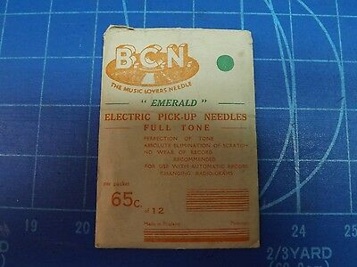 BCN Emerald Brand Electronic Pick up Needles  Package with 2 Needles