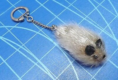 Fur Mouse Key Chain - US Zone - West Germany Circa 1945