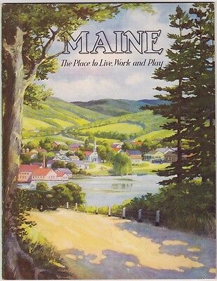 1930's  Maine State Tourism Booklet