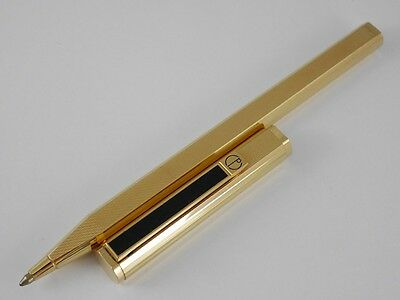 dunhill Dress Gold Plated Barley Ballpoint Pen