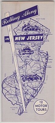 1947 New Jersey Automobile Tours Booklet