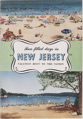 1952 New Jersey Vacations Promotional Booklet