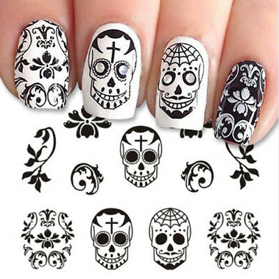 🎃 Nail Art Halloween - Ongles Deco Stickers Autocollants