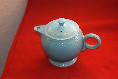 Fiesta Vintage Turquoise Blue Tea Pot