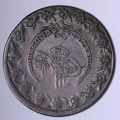 1808 Turkey KM 591 Silver Coin R2P