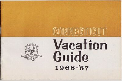 1966-67 Connecticut Hotels Motels Guide Booklet
