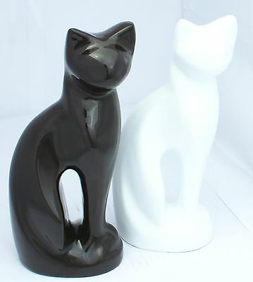 Pet Cat Figurine Urn for Ashes Cremation Memorial Funeral Burial Decorative urn