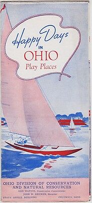 1940's Ohio State Tourism Promotional Brochure