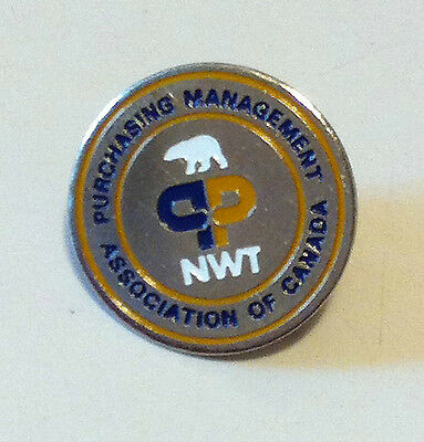 Nwt Purchasing Management Association Of Canada Pin