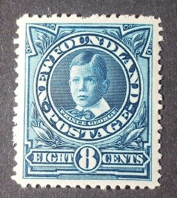 Canada Newfoundland Stamp Collection Sc# 110 8C P. George Mint H Og Vf - High Cv