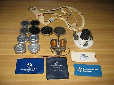 Vintage Bell System Phone Parts /operators Head Set