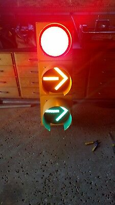 """Durasig Traffic Signal 12"""" LED Lights Directional From an Intersection near you!"""
