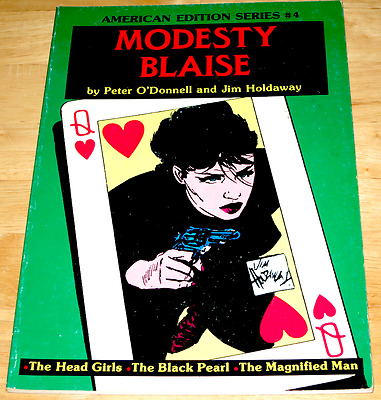 Peter O'Donnell & Jim Holdaway MODESTY BLAISE American Edition Series #4 US P/B