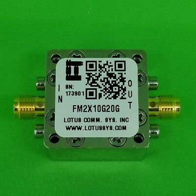 Frequency Multiplier X2 (10 GHz to 20GHz)