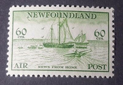 Canada Newfoundland Stamp Collection Sc# C16 Air Mail Mint Hr Og Vf - High Cv