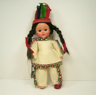 Vogue Ginny Doll Frolicking Fables Indian with hang tag