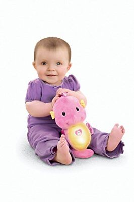 Fisher-Price Soothe and Glow Seahorse, Pink, New, Free Ship