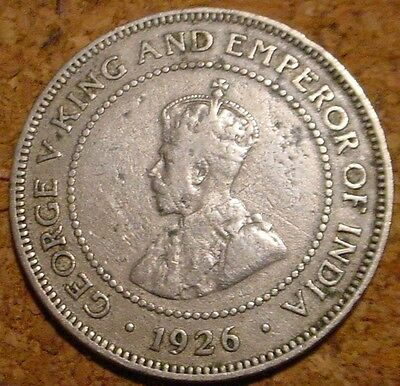**scarce**1926 1/2 Half  Penny Jamaica**low Mintage British Commonwealth*country