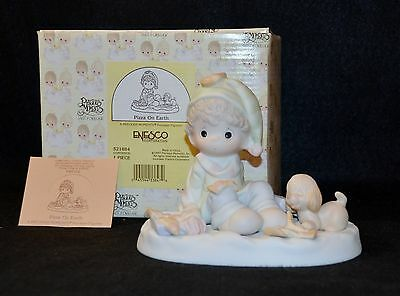 "Precious Moments ""pizza On Earth""  # 521884 Nib 1St Mark Sword Mib"