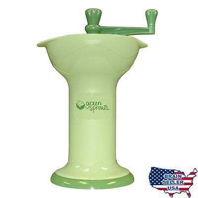 green sprouts Baby Food Mill, Green, New, Free Ship
