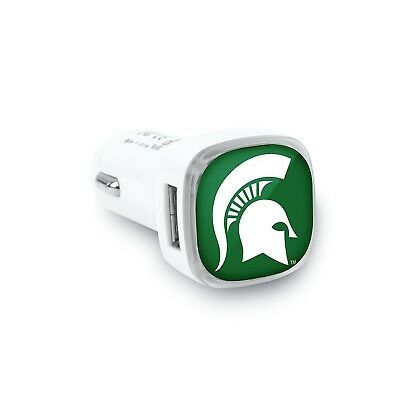 Michigan State Spartans Car Charger. Indian Marketplace. Brand New