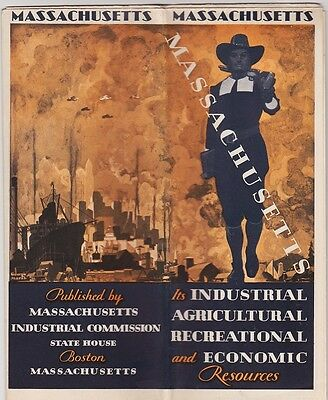 1930 Massachusetts Industrial Commission Brochure