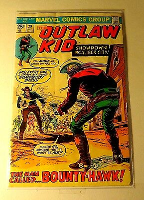 The Outlaw Kid #29 Marvel Comics Bronze Age  CB1904
