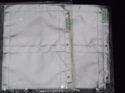REDUCED  Exposures Lot of 2 Unopened Packages 4x6 Photo Protective Pages