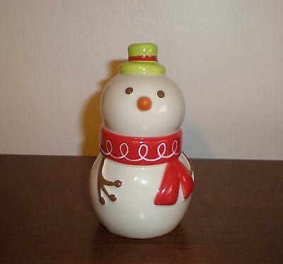 """Holiday 2008 Snowman """"Be Merry"""" Pepper Shaker - by Target Mint"""