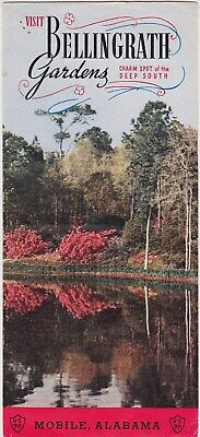 1950's Bellingrath Gardens Mobile Alabama Brochure