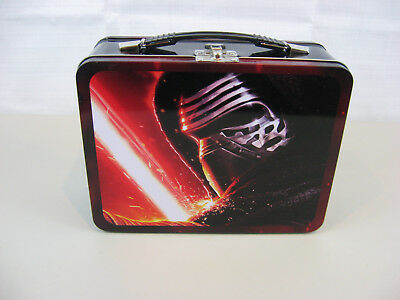 """Star Wars """" The Force Awakens"""" Metal Lunch Box"""
