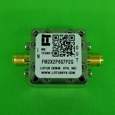 Frequency Multiplier X2 (OUTPUT 2.6 GHz to 7.2GHz) FM2X2P6G7P2G