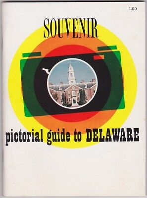 1960's Pictorial Guide To Delaware Booklet