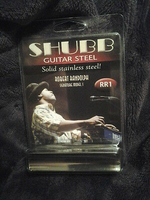 Shubb RR1 Robert Randolph Signature Guitar solid Stainless Steel slide new NIB