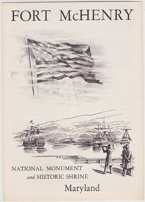 1961 Fort McHenry National Monument Brochure