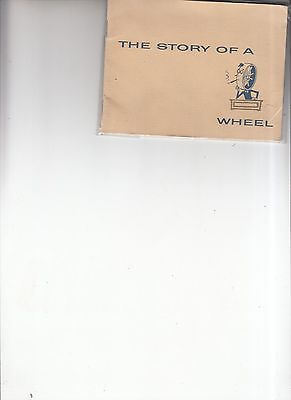 """Vintage 1950's """"The Story of a Wheel"""" booklet"""
