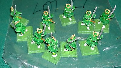 WOTC AEG Clan War metal Samurai warriors 10 clan ? bits lot #27 oop