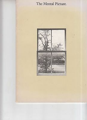 Vintage 1972 AIGA The Mental Picture booklet