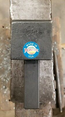 Blacksmith Hardy Hot Cut Hardy 1 inch Forming Stake Forge Anvil Tool Hotcut