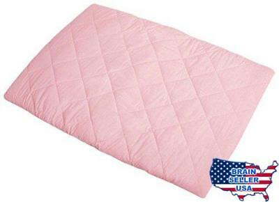 Graco Pack 'n Play Quilted Playard Sheet, Pink, New, Free Ship
