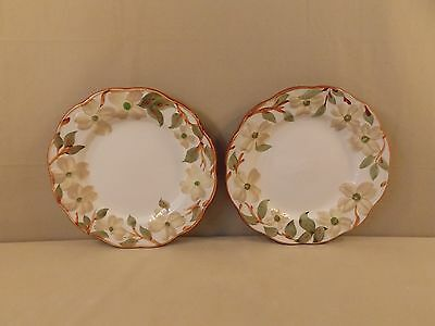 Stangl \ Colonial Dogwood\  2 Dinner Plates & STANGL COLONIAL DOGWOOD Dinner Plate 696223 - $25.99 | PicClick