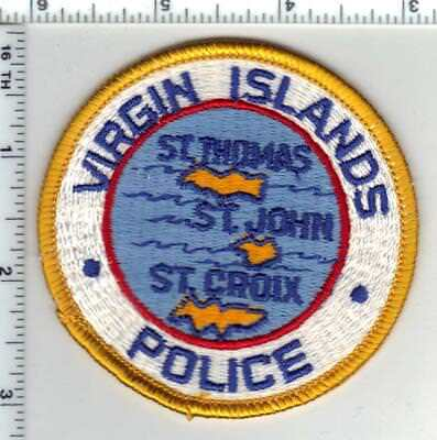 U.S. Virgin Island Police Department Shoulder Patch from the 1980's