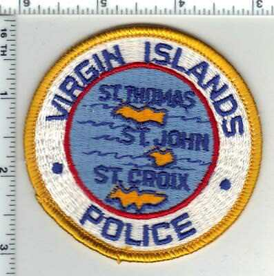 Virgin Island Police (U.S. Territory) Shoulder Patch from the Early 1980's