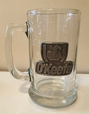 O'keefe Glass Beer Stein - Breweriana