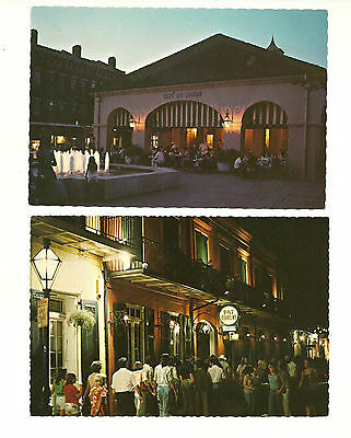 Lot Of 7 New Orleans, Louisiana, Usa Chrome Postcards