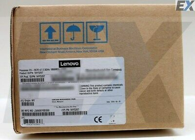94Y5267 - Intel Xeon Processor E5-2670 v2 10C 2.5GHz 25MB Cache 1866MHz 115W for
