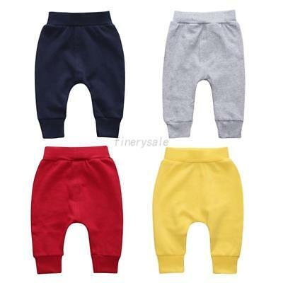 Baby Fall Sport Pants Kid Boy Girl Elastic Sweat Jogger Elastic Bottom Trouser