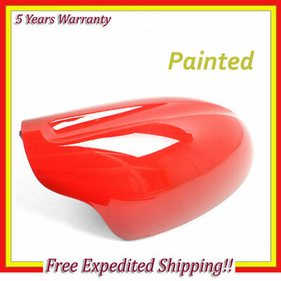 B738 For 02 03 04-06 Nissan Altima Red A20 Right Passenger Side Mirror Cap Cover